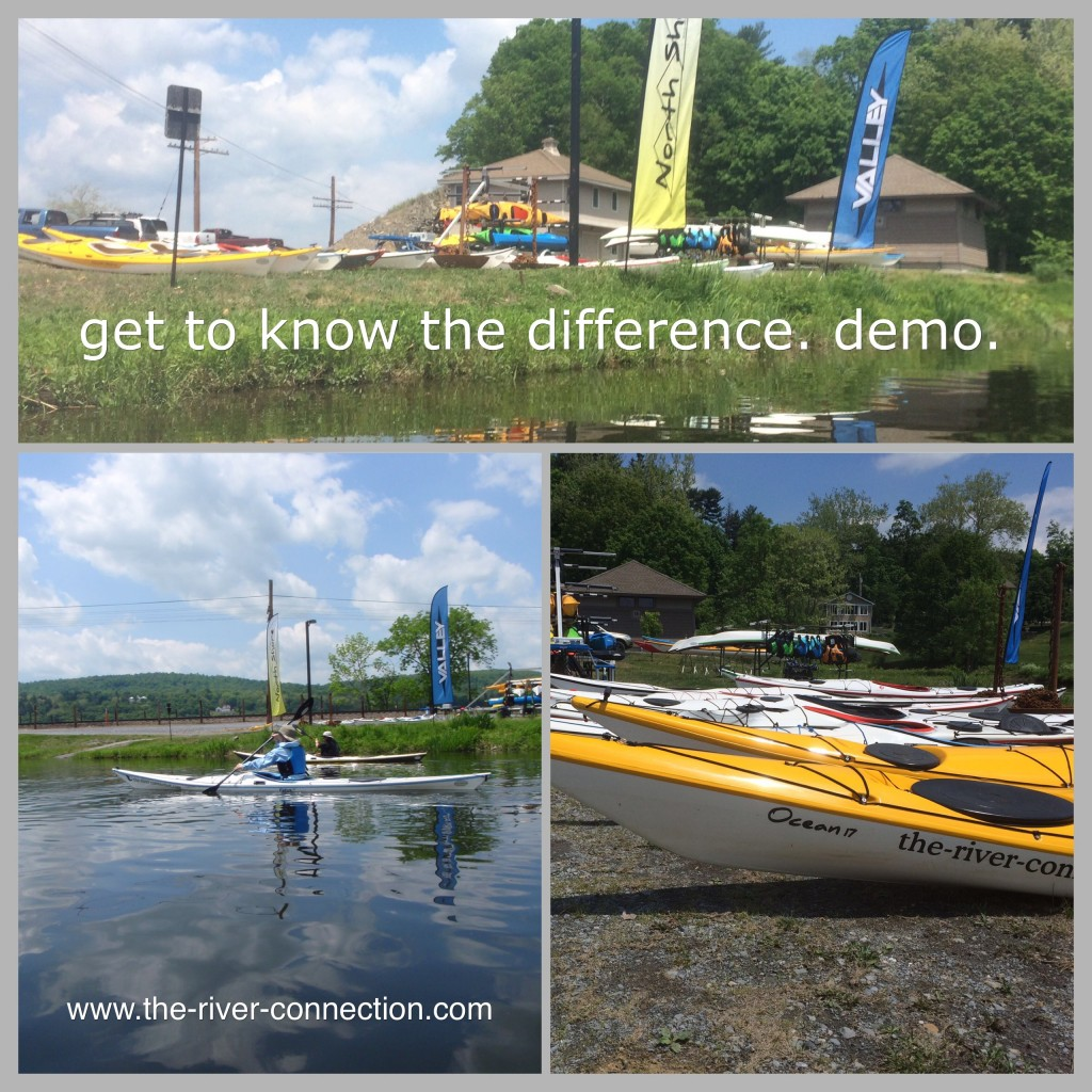 THE RIVER CONNECTION :: KAYAK DEMO DAYS