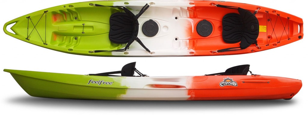 THE RIVER CONNECTION :: SOLO RECREATIONAL SIT ON TOP KAYAK :: FEELFREE CORONA