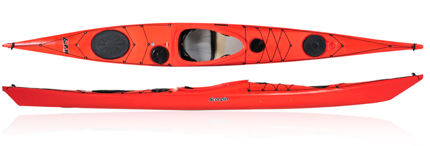 The River Connection PH Sea Kayaks Scorpio 170