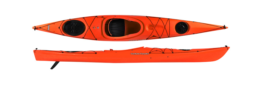 THE RIVER CONNECTION :: SOLO SEA KAYAK :: VENTURE KAYAKS ISLAY 14